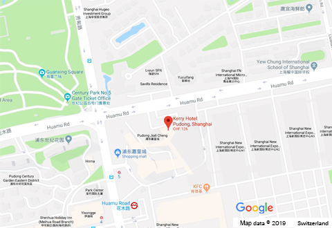 Swiss Re Shanghai Location image, linked to Google Maps