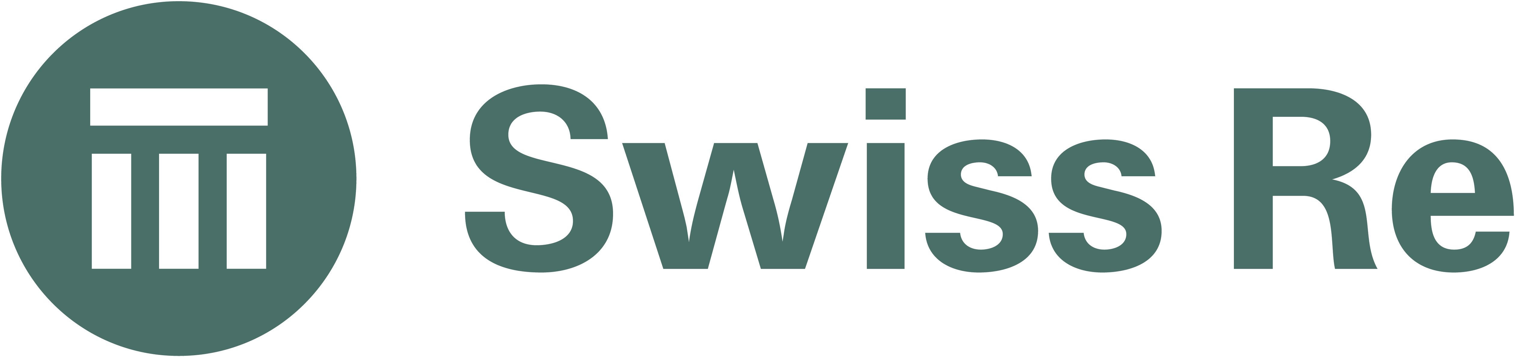 Image result for swiss re logo""